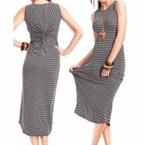 CAbi Twist Back Sleeveless Maxi Dress 313